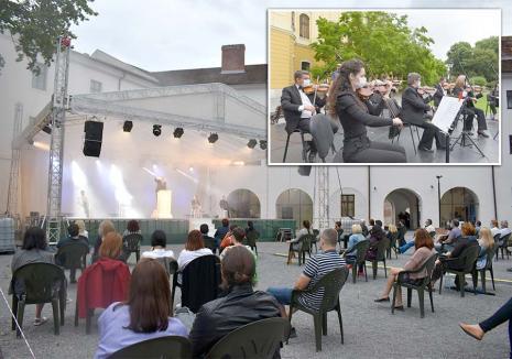 Spectacole... la aer: Comedii, musicaluri, spectacole pentru copii şi concerte de muzică clasică în oferta culturală de vară a Oradiei