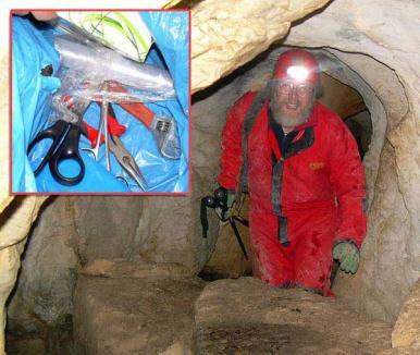 Războiul grotelor: Medic acuzat că a golit câteva peşteri de trofee valoroase