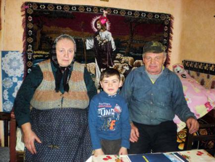 Ajutor nesperat pentru cei patru orfani din Bălaia