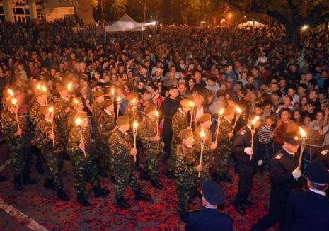 România Mare: 100 de ani de la Marea Unire, marcați în Oradea prin muzică populară, fasole şi focuri de artificii