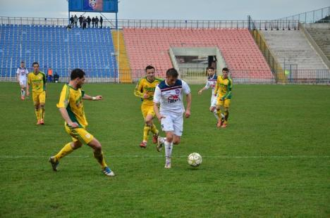Sub ochii lui Vizer: FC Bihor a remizat pe teren propriu cu CS Mioveni (FOTO)