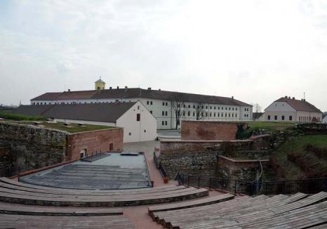 Greu de animat: Inaugurată anul trecut după o investiţie de 20 milioane euro, Cetatea Oradea va prinde viaţă abia în vară