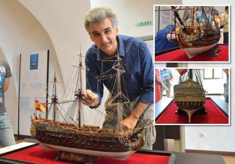 Corăbiile din Cetate: Expoziţie inedită, de machete de corăbii, la Muzeul Cetăţii şi al oraşului Oradea (FOTO)