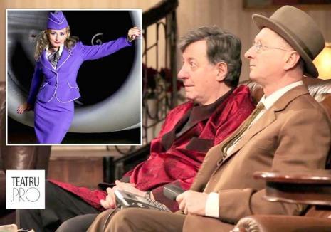 Hai să râdem!Iubitorii de teatru sunt invitaţi la comedii cu Horaţiu Mălăele, Ion Caramitru şi Maria Buză