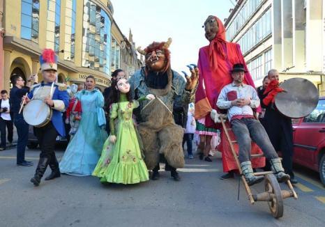 Luna poveştilor: Actori din toată ţara le vor prezenta personaje şugubeţe din poveşti cu tâlc, la Festivalul de Teatru Arcadia