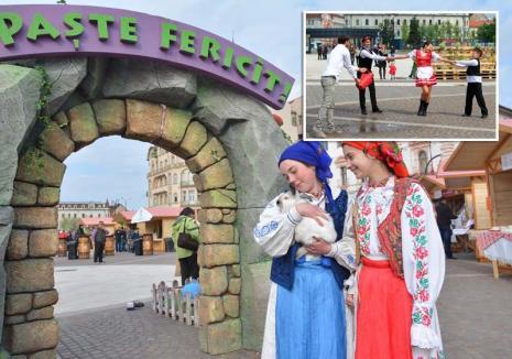 Târg de primăvară: Se apropie Târgul de Paşti din Oradea, cu bunătăţi tradiţionale, ateliere de încondeiat ouă, teatru şi... stropitul fetelor