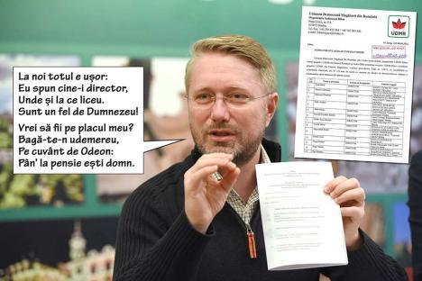 Directori de partid: Cum stabileşte UDMR cine să fie şefii şcolilor şi liceelor din judeţ