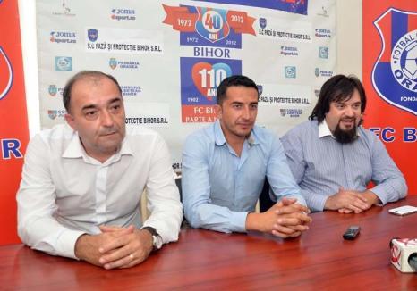 Hoţii strigă hoţii: Conducătorii clubului FC Bihor se acuză reciproc de furt