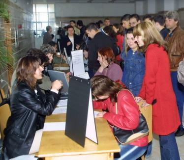 În Bihor, doar 165 de şomeri disponibilizaţi din sectorul bugetar