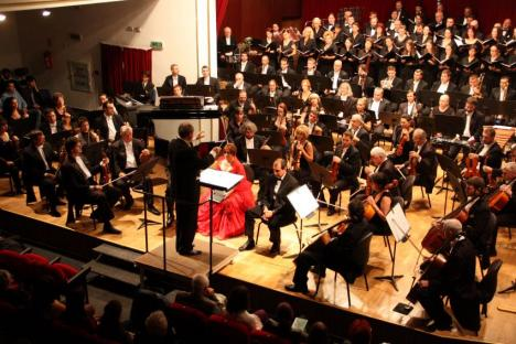 Muzică cultă românească la Filarmonica de Stat Oradea