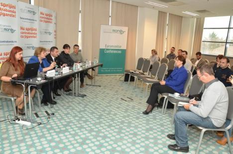 Prima campanie din Transilvania împotriva contrabandei cu ţigarete a fost lansată la Oradea (FOTO)