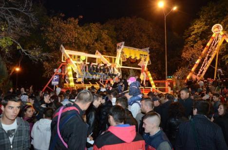 Ziua Oradiei s-a încheiat cu un spectaculos foc de artificii (FOTO/VIDEO)
