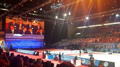 Prietenul lui Putin: Marius Vizer a dat o nouă lovitură de imagine, cu ocazia Mondialelor de Judo din Budapesta (FOTO)