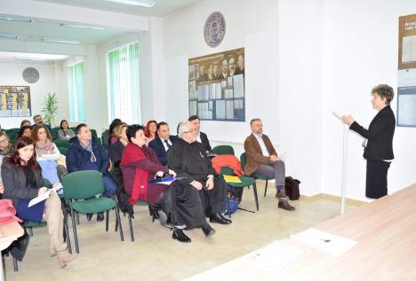 Profesorul şi sociologul Eugeniu Speranţia, celebrat la Facultatea de Ştiinţe Socio-Umane