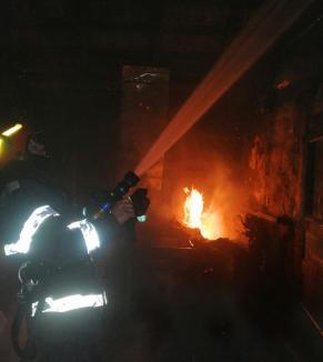 Un bărbat din Bihor a murit într-un incendiu care i-a cuprins casa