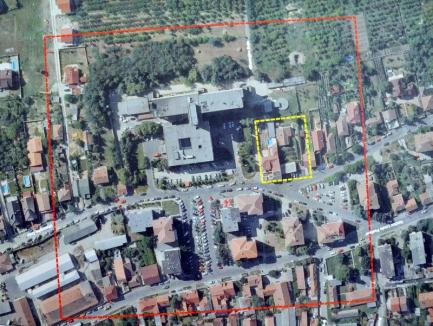 """Adio, parcare """"în trepte""""! Primăria Oradea va face parcare supraetajată lângă Spitalul Judeţean, nu pe deal"""