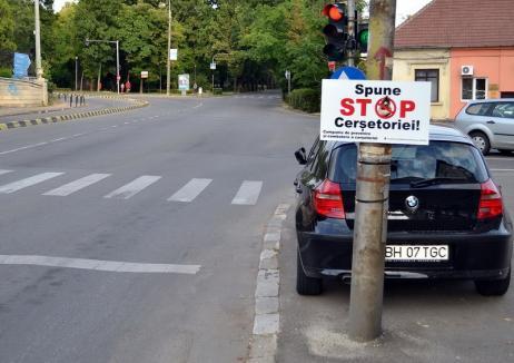 Nu vă lăsaţi înşelaţi! Poliţiştii locali au ridicat din Oradea 15 cerşetori care se dădeau orbi, muţi sau ciungi