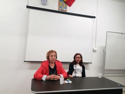 Fostul deţinut politic Niculina Moica la Oradea: 'Cred că românul are memorie scurtă!' (FOTO)