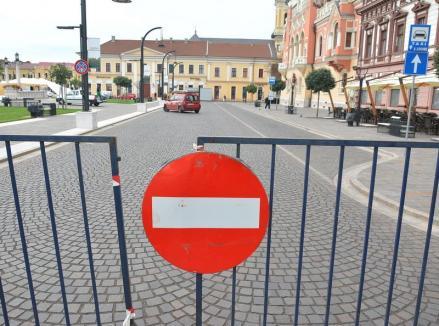 Atenţie, şoferi! Primăria Oradea anunţă noi închideri de străzi