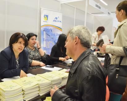 Şomaj în scădere. 867 de locuri de muncă vacante în Bihor, din care 798 în Oradea