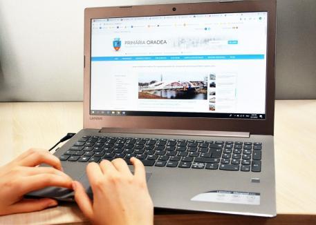 Totul online! Investiţii de 3 milioane lei în informatizarea Primăriei Oradea