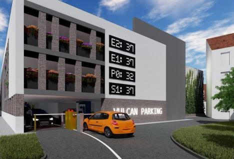 Undă verde pentru proiectul parcării supraetajate de pe strada Iosif Vulcan din Oradea