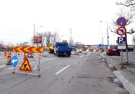 Restricţiile de circulaţie pe podul peste Peţa din Calea Aradului se prelungesc cu două luni
