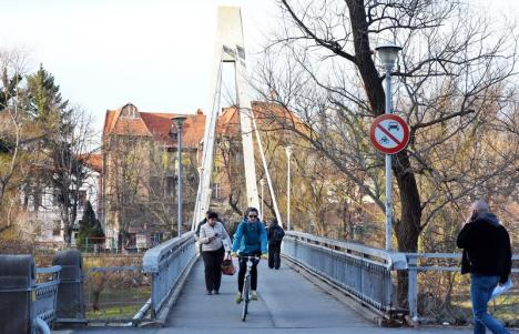 Podul Intelectualilor va intra de renovare. Investiția se ridică la 5,7 milioane lei