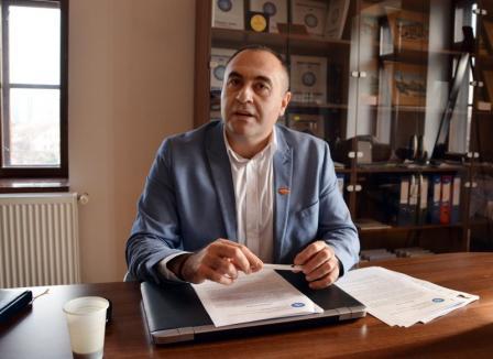 Noul preşedinte al Federaţiei Patronilor Bihor, Dinu Meșter, vrea ca 'administrațiilepublicesă țină cont de sugestiile oamenilor de afaceri'