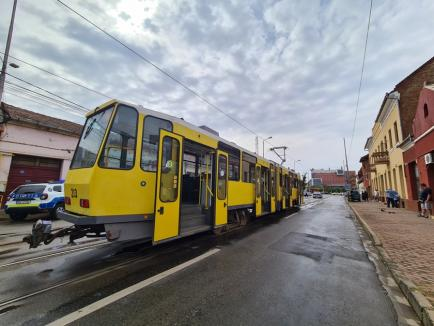 Staţionări tramvaie în 15 septembrie 2021