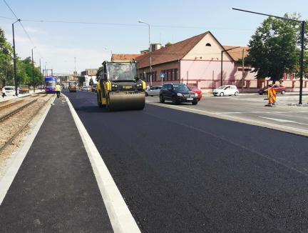 Prinde contur! Constructorii au început asfaltarea Bulevardului Nufărul-Cantemir (FOTO)