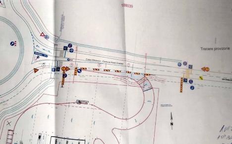 Noi restricţii de circulaţie în Oradea: Traficul rutier pe bulevardul Nufărul se va închide pe o bandă de circulaţie până în septembrie