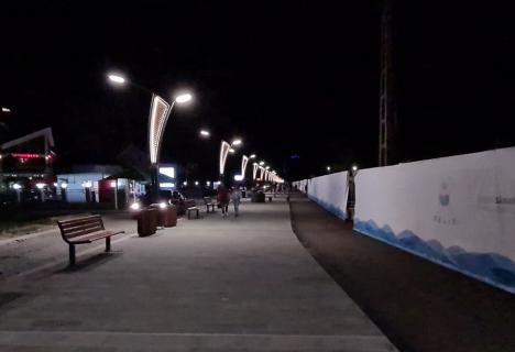Noua promenadă din Băile Felix umple staţiunea de viaţă după lăsarea serii. Vezi cum arată! (FOTO / VIDEO)