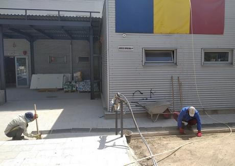 Bazinul Olimpic din Oradea ar putea fi redeschis la finalul anului. În ce stadiu sunt lucrările de reabilitare (FOTO)