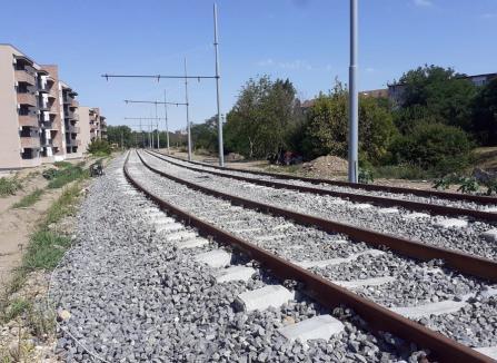 Noua linie de tramvai din Oradea, în probe