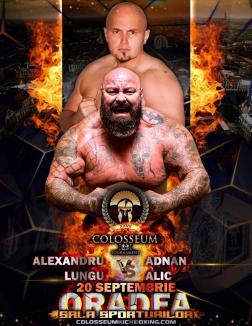 Colosseum Tournament: Orădeanul Sandu Lungu îl va înfrunta acasă pe sârbul Adnan Alic