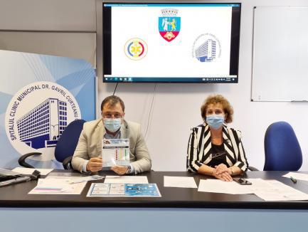 Ziua pentru siguranţa pacientului. Spitalul Municipal şi Maternitatea din Oradea vor fi iluminate în galben şi portocaliu