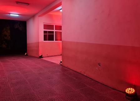 Ziua siguranţei pacientului. Intrările de la Spitalul Municipal şi Maternitatea Oradea au fost iluminate în portocaliu (FOTO)