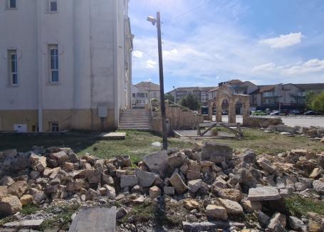Încă un şantier în Oradea: A început amenajarea centrului de cartier din Ioșia (FOTO / VIDEO)