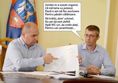Colonel cu nervi pe el: Directorul economic al Primăriei Oradea, trimis să facă ordine între carantinați