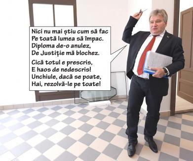 Impostură expirată: O diplomă nașpa dată de Universitatea Oradea rămâne valabilă din motiv de prescriere