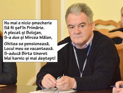 Mai iute ca şeful... Directorul tehnic adjunct Benţan pleacă şi el din Primăria Oradea