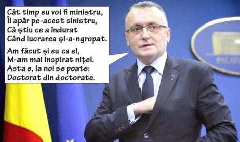 Blatul continuă: Ministerul Educaţiei refuză să trimită documentele privind plagiatul lui Bodog. Cîmpeanu, te simți?