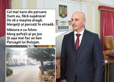 """Ordine în parcare: Prefectul Țiplea a """"ejectat"""" mașinile șefuților care aglomerau parcarea de incintă"""