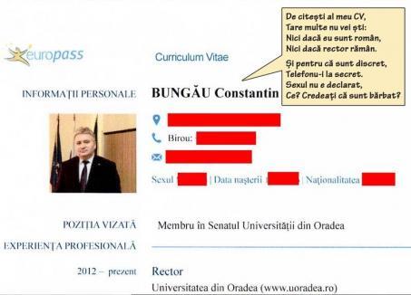 Secrete de Sorbonica: Lipsă de transparență la Universitatea din Oradea, rectorul și-a ascuns până și sexul!