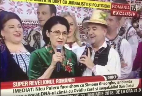 Tepe-lepe pân' urzici: Folcloristul liberal Cornel Borza s-a dat în spectacol alături de PSD-iști controversați