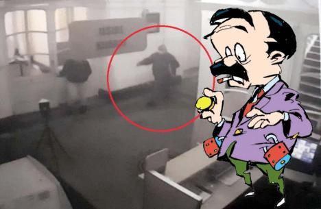 Hoțul din Primărie: Cine este individul prins cu mâna-n buzunar în Primăria Oradea?