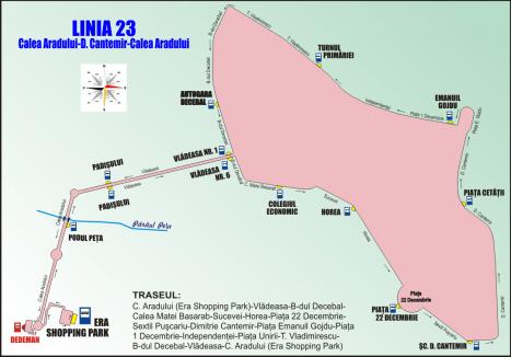 OTL anunţă devierea traseelor liniilor 17, 19 şi 23 de autobuz