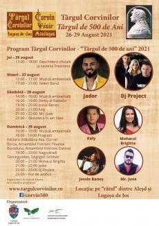 Târgul Corvinilor își redeschide porțile în acest weekend, la Lugașu de Jos. Vezi programul!