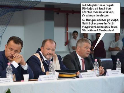 Bodog, mândria FMF: Plagiatorul impostor, propus decan la Facultatea de Medicină din Oradea
